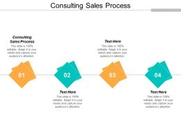Consulting Sales Process Ppt Powerpoint Presentation Slides Format Ideas Cpb