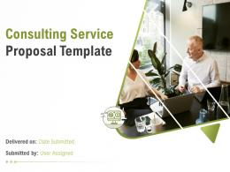 Consulting Service Proposal Template Powerpoint Presentation Slides