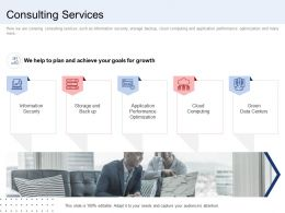Consulting Services Cloud Ppt Layouts Graphics