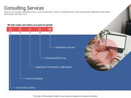 Consulting Services Electronic Government Processes Ppt Graphics