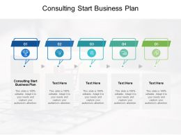Consulting Start Business Plan Ppt Powerpoint Presentation Portfolio Examples Cpb