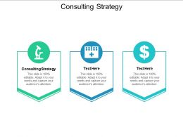 Consulting Strategy Ppt Powerpoint Presentation Gallery Examples Cpb