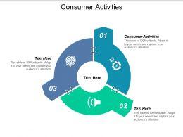 Consumer Activities Ppt Powerpoint Presentation File Portfolio Cpb