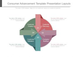 Consumer Advancement Template Presentation Layouts