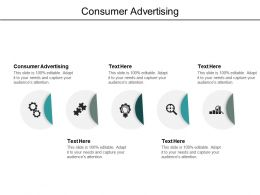 Consumer Advertising Ppt Powerpoint Presentation Infographics Model Cpb