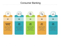 Consumer Banking Ppt Powerpoint Presentation Gallery Influencers Cpb
