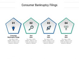 Consumer Bankruptcy Filings Ppt Powerpoint Presentation Visual Aids Backgrounds Cpb