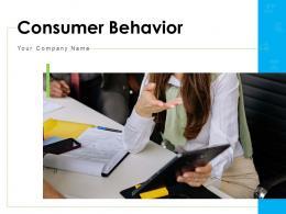 Consumer Behavior Assessment Model Decision Making Buying Process