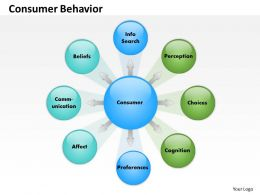 Consumer Behavior Powerpoint Template Slide