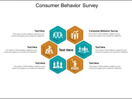 Consumer Behavior Survey Ppt Powerpoint Presentation Pictures Structure Cpb