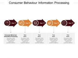 Consumer Behaviour Information Processing Ppt Powerpoint Presentation Pictures Template Cpb