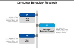 Consumer Behaviour Research Ppt Powerpoint Presentation Gallery Example File Cpb