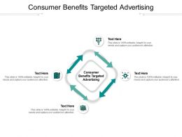Consumer Benefits Targeted Advertising Ppt Powerpoint Presentation Portfolio Format Cpb