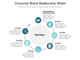 Consumer Brand Relationship Model Ppt Powerpoint Presentation Gallery Outfit Cpb