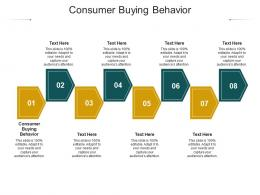 Consumer Buying Behavior Ppt Powerpoint Presentation Icon Infographic Template Cpb