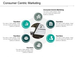Consumer Centric Marketing Ppt Powerpoint Presentation Outline Diagrams Cpb