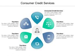 Consumer Credit Services Ppt Powerpoint Presentation File Professional Cpb