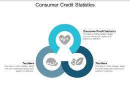 Consumer Credit Statistics Ppt Powerpoint Presentation Ideas Visuals Cpb