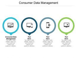 Consumer Data Management Ppt Powerpoint Presentation Summary Gridlines Cpb