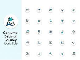 Consumer Decision Journey Icons Slide L1043 Ppt Powerpoint Slides