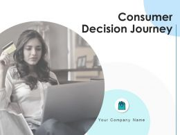 Consumer Decision Journey Powerpoint Presentation Slides