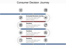 Consumer Decision Journey Ppt Powerpoint Presentation Inspiration Files Cpb