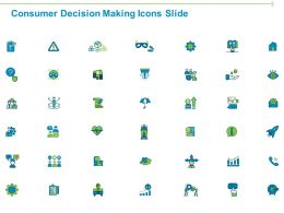 Consumer Decision Making Icons Slide Ppt Powerpoint Presentation Icon Diagrams