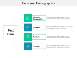 Consumer Demographics Ppt Powerpoint Presentation Slides Inspiration Cpb