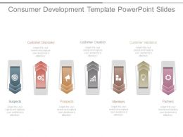 Consumer Development Template Powerpoint Slides