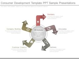 Consumer Development Template Ppt Sample Presentations