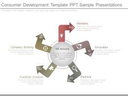 Consumer Development Template Ppt Sample Presentations