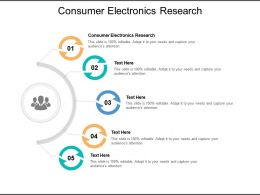 Consumer Electronics Research Ppt Powerpoint Presentation Ideas Shapes Cpb