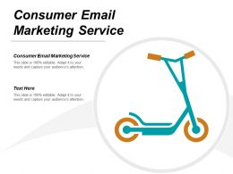 Consumer Email Marketing Service Ppt Powerpoint Presentation Ideas Background Image Cpb