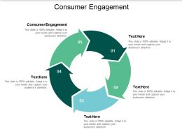 Consumer Engagement Ppt Powerpoint Presentation Slides Topics Cpb