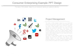 Consumer Enterprising Example Ppt Design