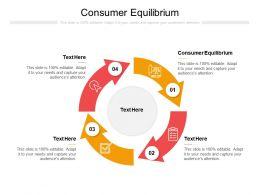 Consumer Equilibrium Ppt Powerpoint Presentation Good Cpb