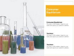 Consumer Equilibrium Ppt Powerpoint Presentation Slides Topics Cpb