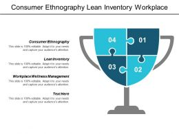 Consumer Ethnography Lean Inventory Workplace Wellness Management Business Chain Cpb