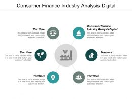 Consumer Finance Industry Analysis Digital Ppt Powerpoint Presentation Gallery Tips Cpb
