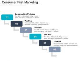 Consumer First Marketing Ppt Powerpoint Presentation Gallery Slide Portrait Cpb