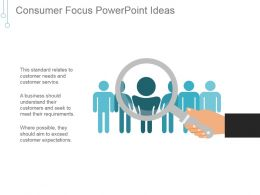 Consumer Focus Powerpoint Ideas