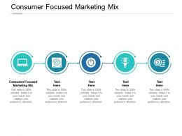 Consumer Focused Marketing Mix Ppt Powerpoint Presentation Microsoft Cpb