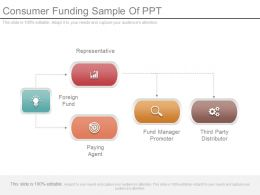 Consumer Funding Sample Of Ppt