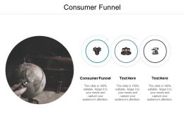 Consumer Funnel Ppt Powerpoint Presentation Ideas Cpb