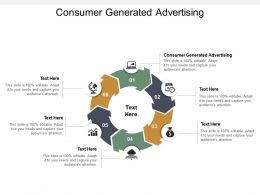 Consumer Generated Advertising Ppt Powerpoint Presentation Professional Demonstration Cpb