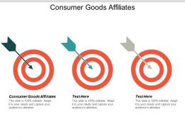 Consumer Goods Affiliates Ppt Powerpoint Presentation Ideas Example Introduction Cpb