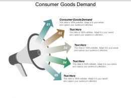 Consumer Goods Demand Ppt Powerpoint Presentation Model Portrait Cpb