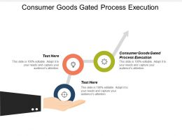 Consumer Goods Gated Process Execution Ppt Powerpoint Presentation Model Infographics Cpb