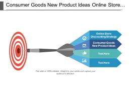Consumer Goods New Product Ideas Online Store Discounting Strategy Cpb