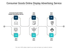Consumer Goods Online Display Advertising Service Ppt Powerpoint Presentation Summary Good Cpb